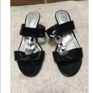 Excellent condition black sandals